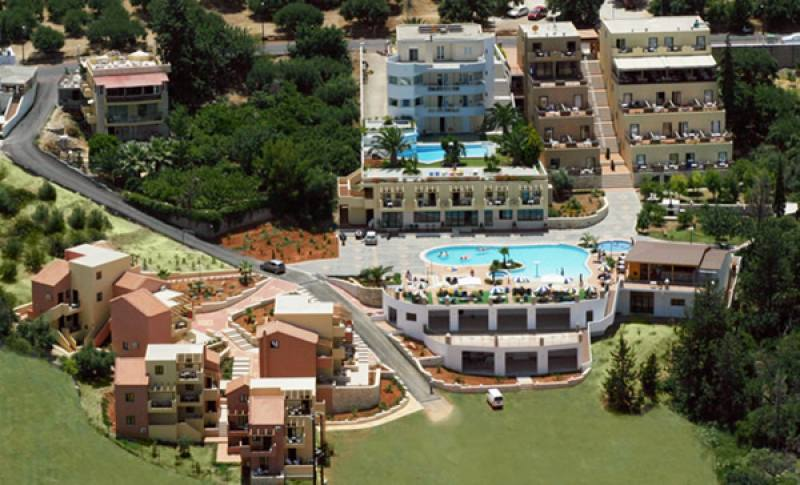 Appartementen Asterias Village - Piskopiano - Heraklion Kreta